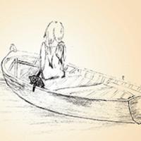 """Virginie Peyré, autrice de """"La barque noire"""" s'engage face au fléau de la pédocriminalité."""